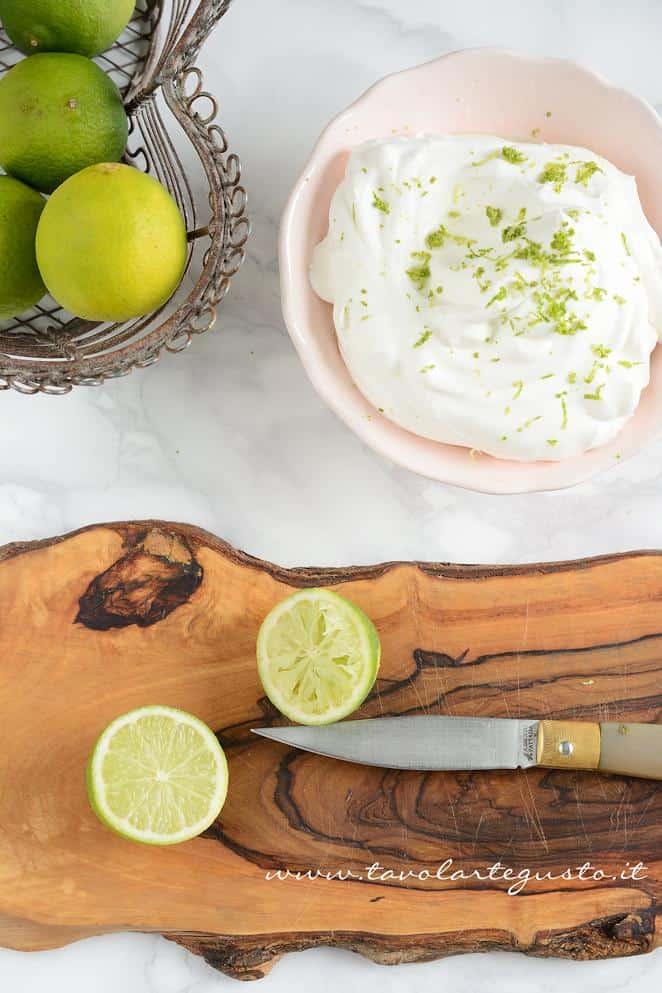 Crema al lime -  RicettaTorta Foresta Nera Exotic Flavours
