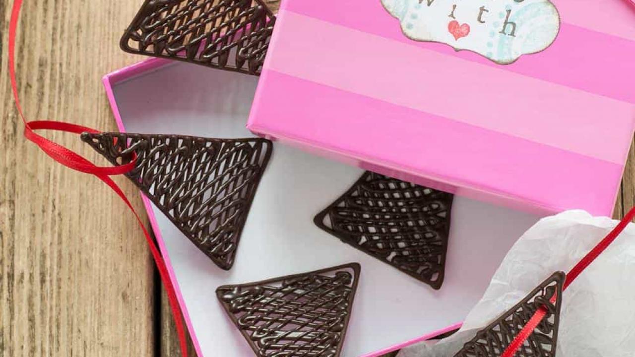Decorazioni Lettere D Amore decorazioni di cioccolato