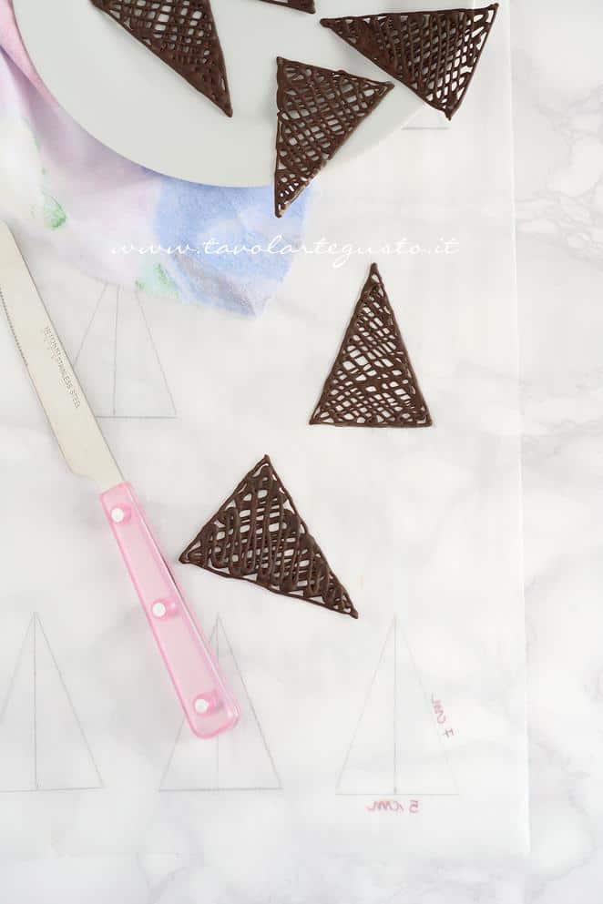 Decorazioni di cioccolato -RicettaTorta Foresta Nera Exotic Flavours
