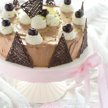 Torta foresta nera exotic flavours - Ricetta Torta foresta nera exotic flavours
