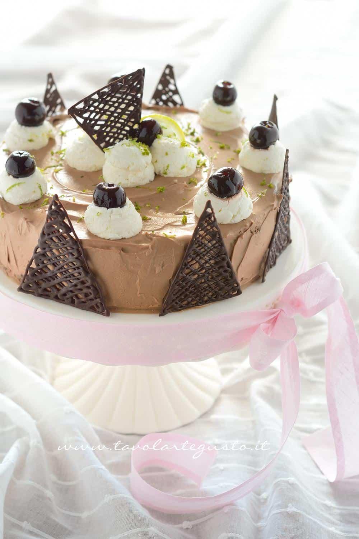 Torta Foresta Nera Exotic Flavours Ricetta Torta Foresta Nera Exotic Flavours-