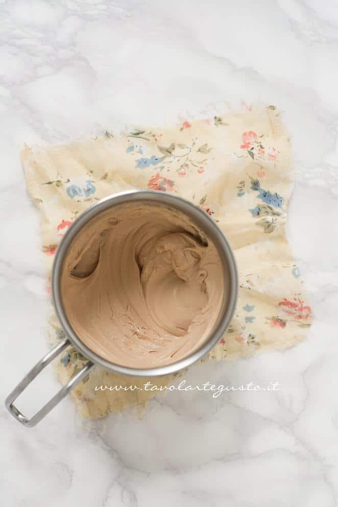 Ganache al Cioccolato Kinder - Ricetta Biscotti al Cappuccino