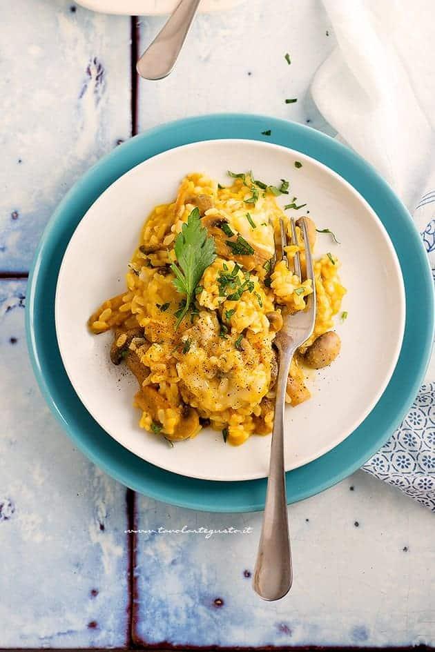 Ricetta Risotto zucca e gorgonzola