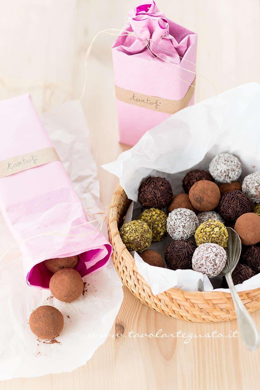 Tartufi Al Cioccolato Veloci Senza Cottura Mille Gusti
