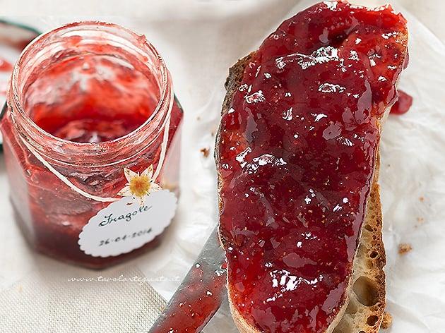Marmellata di Fragole - Confettura di Fragole - Ricetta Marmellata di Fragole-