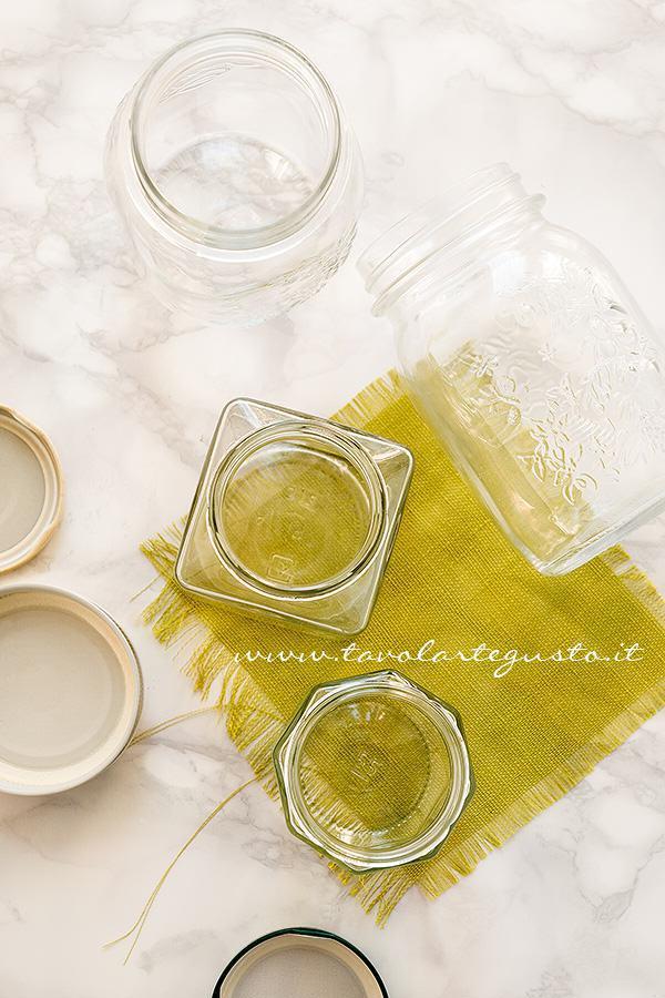 Scegliere i Vasetti per Conserve e Mamellate- Sterilizzare i Vasetti di vetro per le Conserve