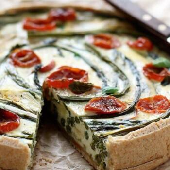 Torta salata con Asparagi - Ricetta Torta salata con Asparagi