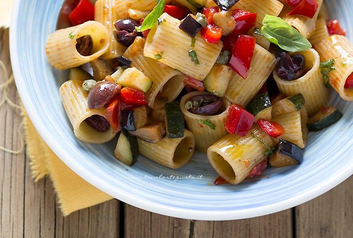 Pasta all'ortolana - Pasta con verdure