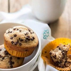 Muffin con gocce di cioccolato -Ricetta originale Muffin con gocce di cioccolato