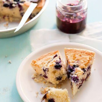 Torta ai mirtilli - Ricetta Torta ai mirtilli