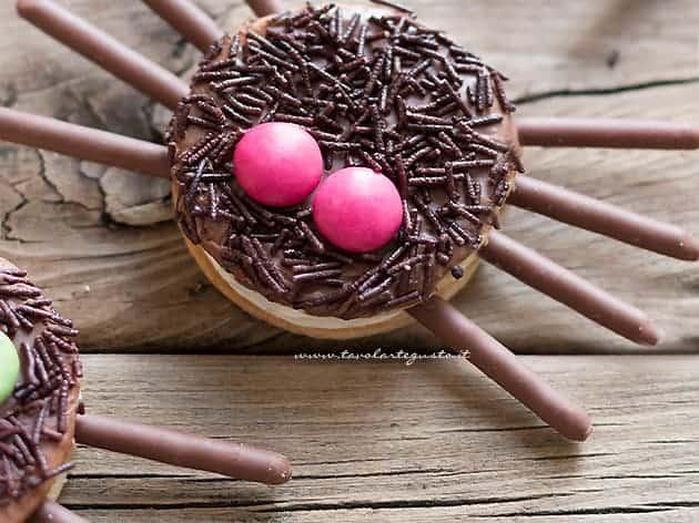 Biscotti Ragno halloween - Ragnetti