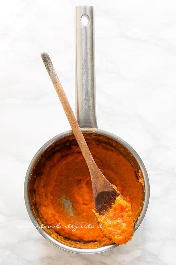 Purea di zucca - Ricetta Gnocchi di zucca