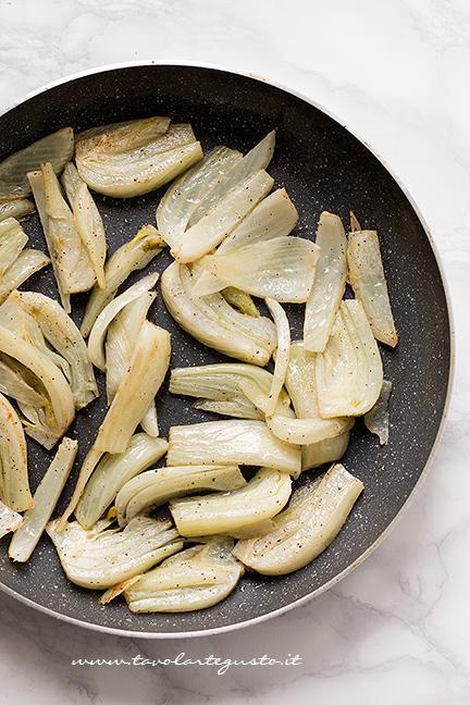 Saltare i finocchi in padella - Ricetta Finocchi gratinati