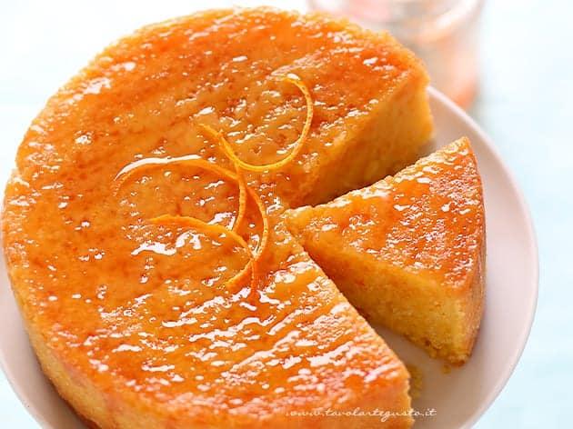 Torta all'arancia- la Ricetta perfetta - Ricetta Torta all'arancia-