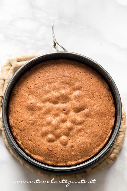 Sponge Cake appena sfornata - Ricetta Sponge Cake