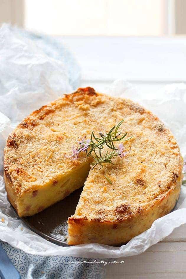 interno morbido del gateau di patate napoletano - Ricetta Gateau di patate