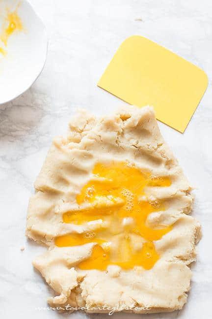 Come preparare l'impasto6 -  Ricetta Zeppole di San Giuseppe fritte
