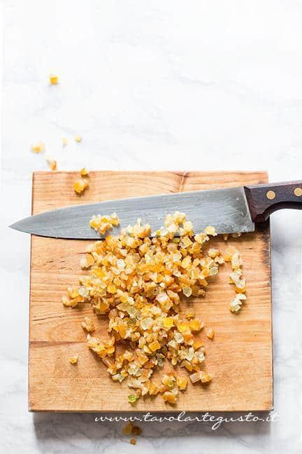 Tritare i canditi - Ricetta Pastiera napoletana