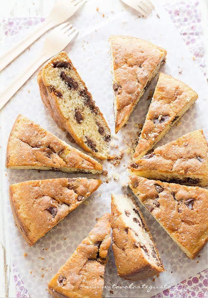 Torta Stracciatella - Ricetta Torta Stracciatella.