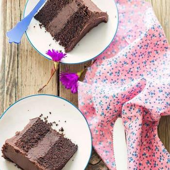 Torta al doppio cioccolato - Ricetta Torta al doppio cioccolato.