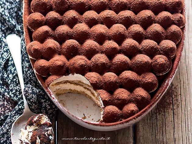 tiramisu con uova pastorizzate