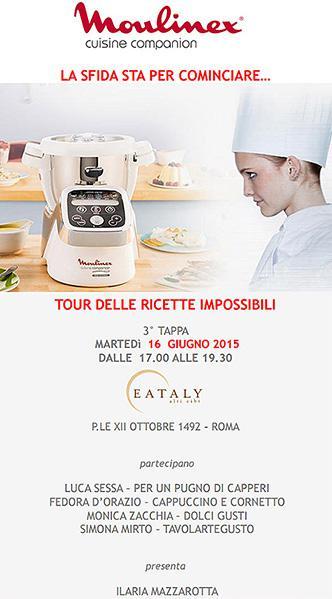 Tour Cuisine Companion Moulinex  #ricetteimpossibili  - Tavolartegusto
