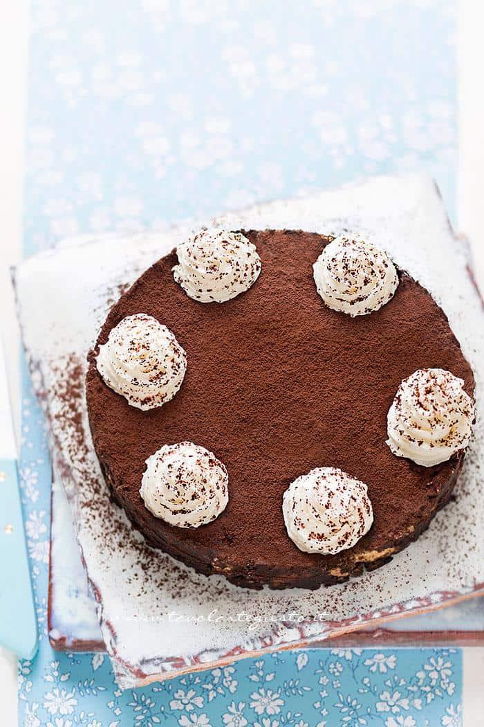 Torta di biscotti al cioccolato, fredda e senza cottura 2 - Ricetta Torta di biscotti