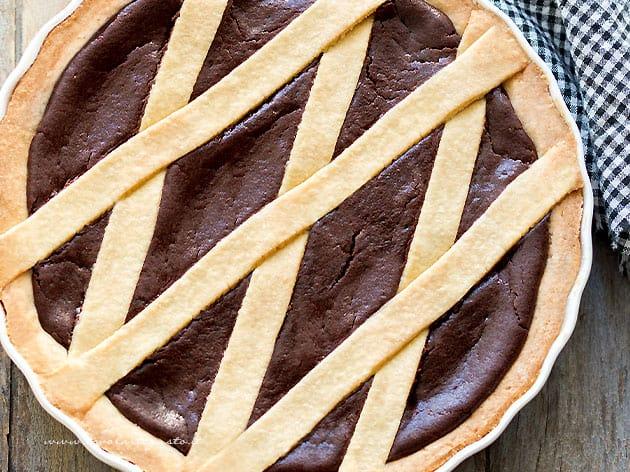 Crostata al Cioccolato - Ricetta Crostata al Cioccolato