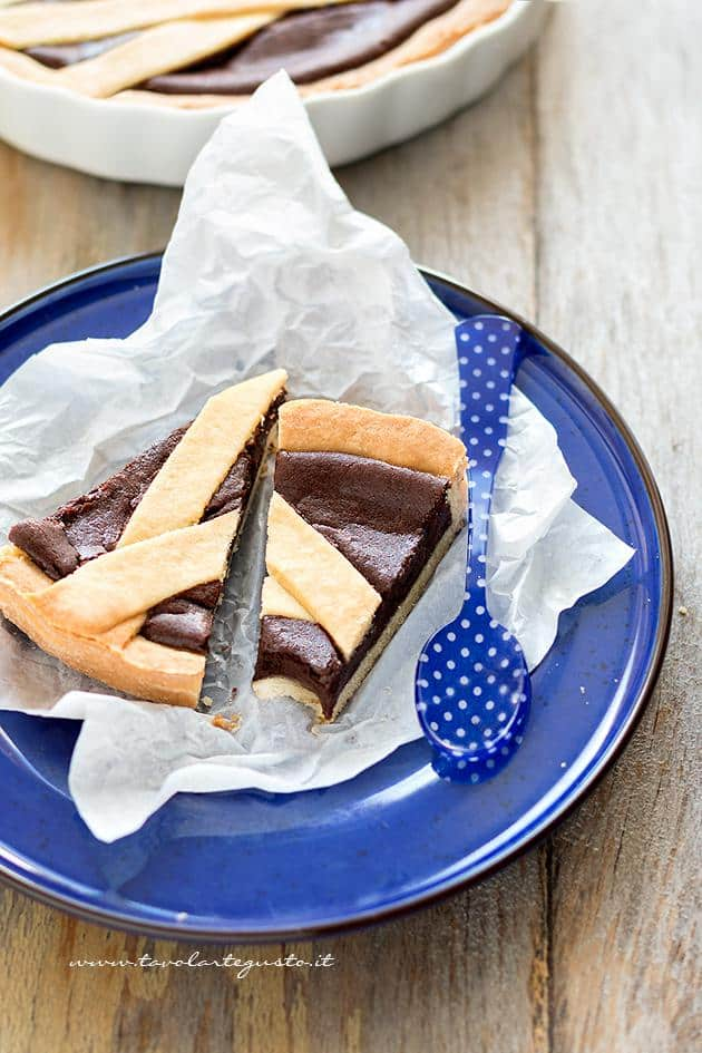Fette di Crostata al Cioccolato - Ricetta Crostata al Cioccolato