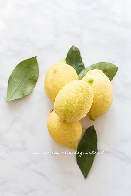 Limoni freschi - Ricetta Torta al limone