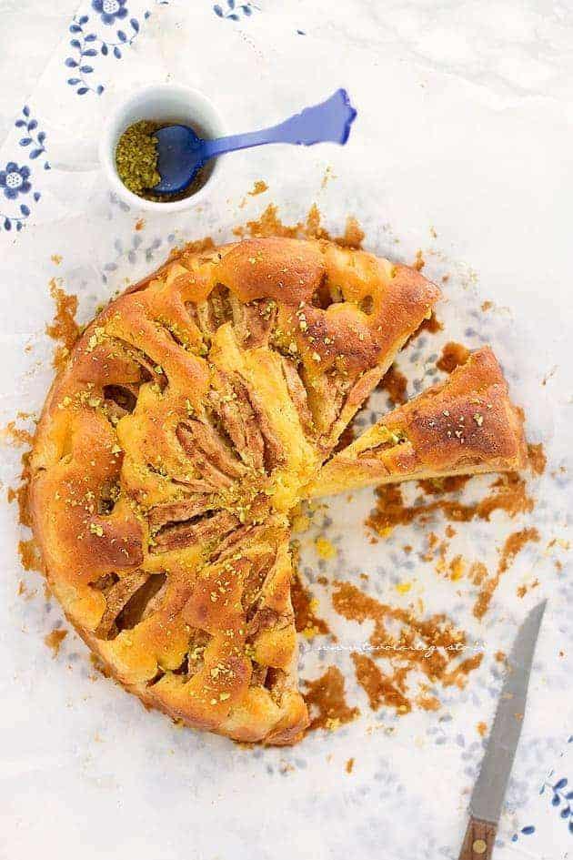 Sfornare la Torta di mele senza burro - Ricetta Torta di mele senza burro