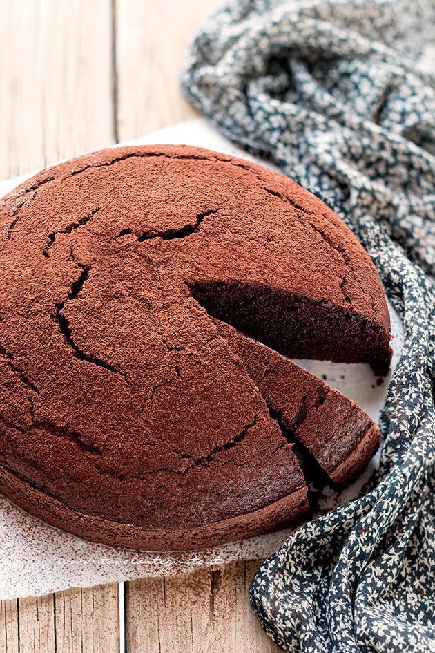 Ricetta bimby torta al cioccolato senza burro