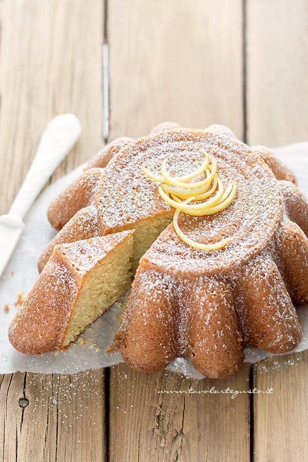 Torta soffice al limone - Ricetta Torta al limone soffice