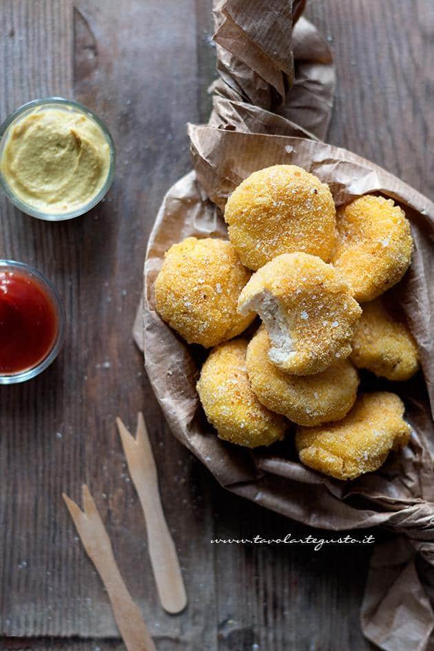 Crocchette di pollo (Chicken Nuggets) Ricetta Crocchette di pollo
