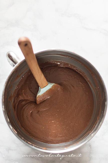 Impasto al cioccolato - Ricetta Plumcake con cuore a sopresa