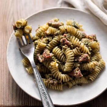 Pasta broccoli e salsiccia - Ricetta Pasta broccoli e saliccia