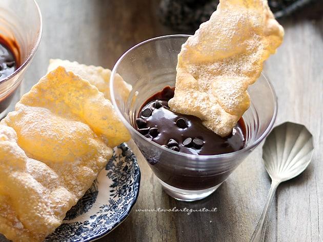 Sanguinaccio dolce di Carnevale al cioccolato - Ricetta Sanguinaccio-