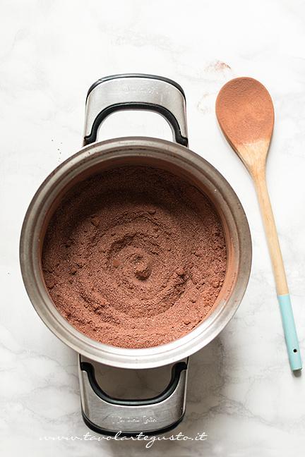 Setacciate tutte le polveri - Ricetta Sanguinaccio dolce al cioccolato