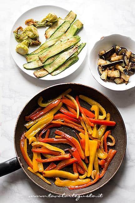 Saltare le verdure o Grigliarle - Ricetta Plumcake salato alle verdure