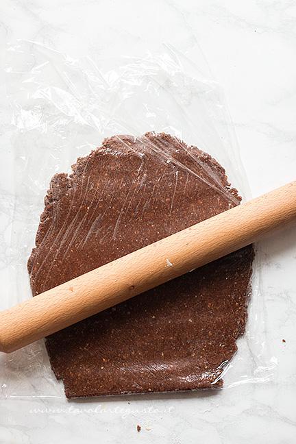 Come fare il rotolo senza cottura 1 - Ricetta Rotolo senza cottura al cioccolato