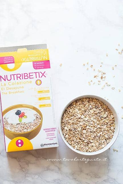Cereali Nutribetix -Ricetta Barrette ai Cereali