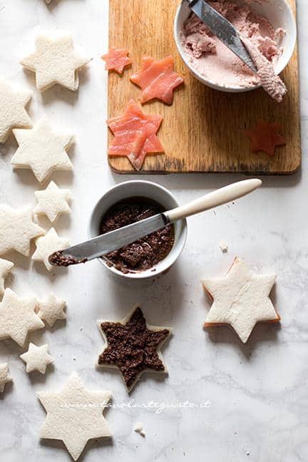 Farcire i tramezzini - Albero di Natale con Tramezzini