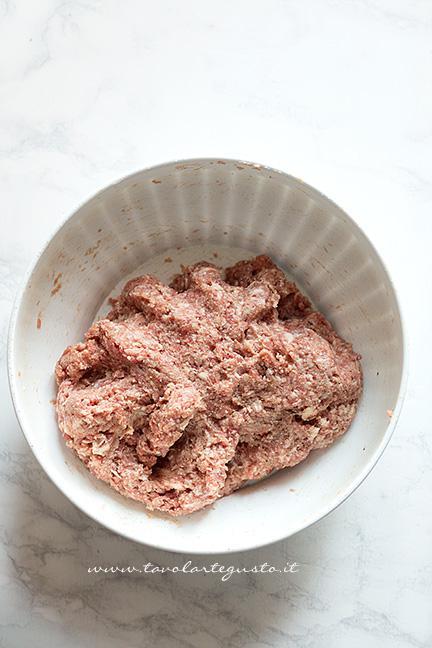 Impasto del polpettone - Ricetta Polpettone in Crosta