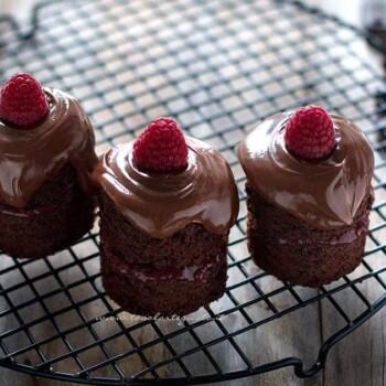 Mini Cake al cioccolato - Ricetta Mini Cake