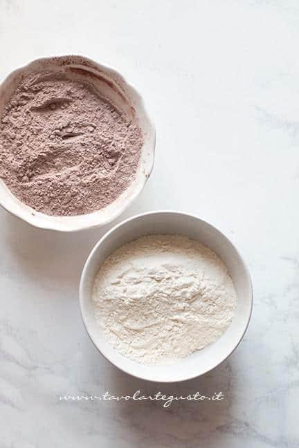 Cacao e farina - Biscotti vaniglia e cacao
