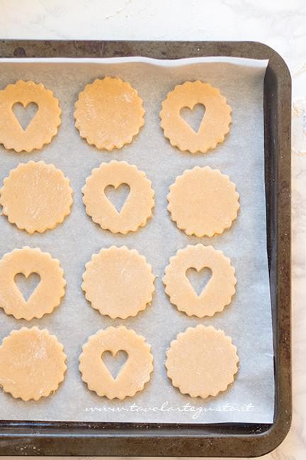 Frolle pronte da cuocere1 - Ricetta Biscotti alla marmellata