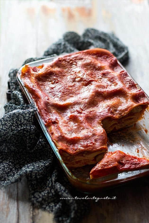 Lasagne al forno: la Ricetta originale napoletana