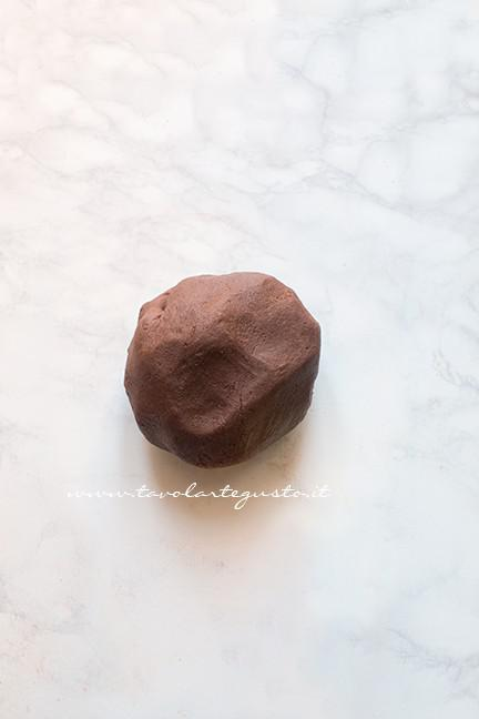 Pasta frolla al cacao pronta - Ricetta Biscotti di Carnevale