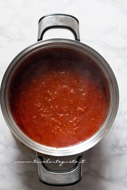 Ragù di maiale - Ricetta Lasagna napoletana