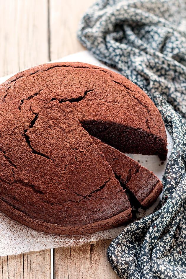 torta al cacao - torta al cioccolato senza burro